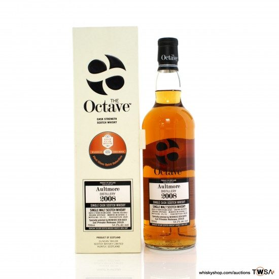 Aultmore 2008 11 Year Old Single Cask #9523953 Duncan Taylor The Octave 1st Private Release 2019 - Wijnhuis Den Boer
