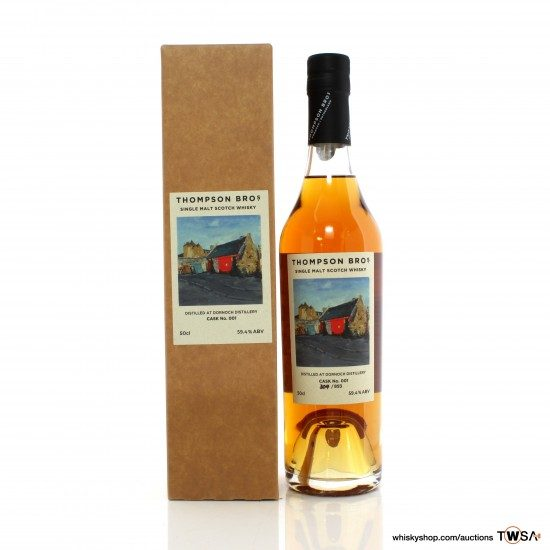 Dornoch 2017 3 Year Old Single Cask #001 Thompson Bros