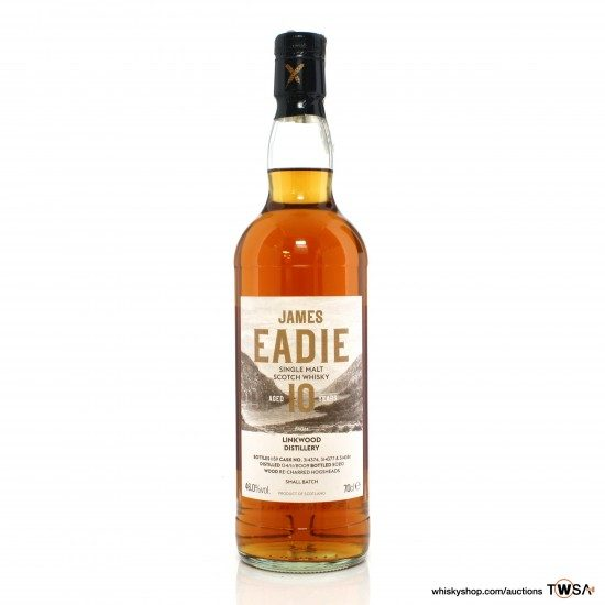Linkwood 2009 10 Year Old James Eadie Small Batch