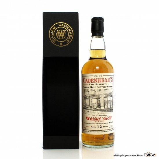 GlenAllachie-Glenlivet 2007 12 Year Old Single Cask Cadenhead's - Berlin Shop