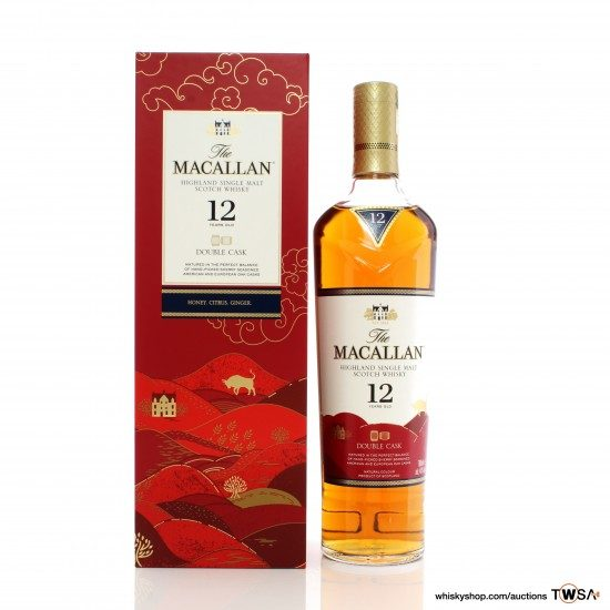 Macallan 12 Year Old Double Cask Year of The Ox
