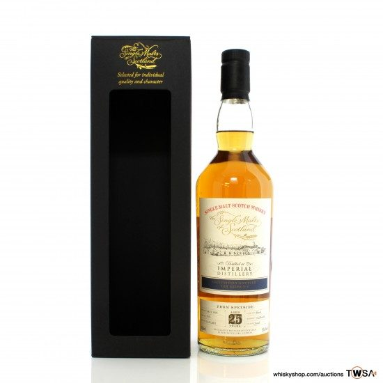 Imperial 1995 25 Year Old Single Cask #7851 Single Malts of Scotland - Milroy's