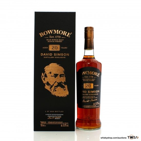 Bowmore 20 Year Old David Simson