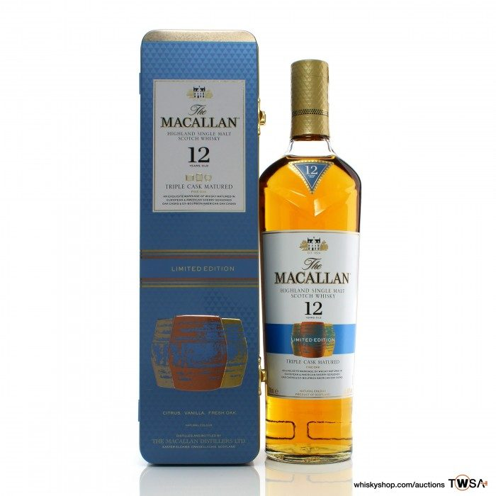 Macallan 12 Year Old Triple Cask Limited Edition