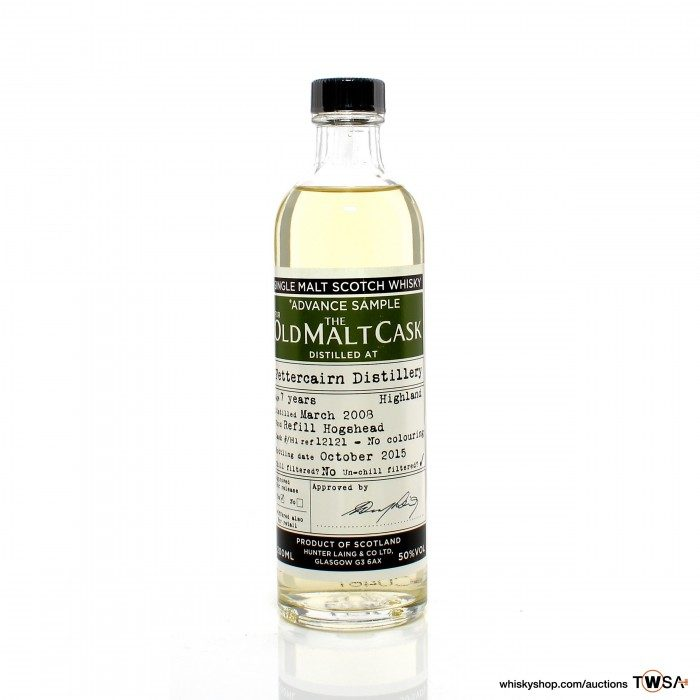 Fettercairn 2008 7 Year Old Single Cask #12121 Hunter Laing Old Malt Cask