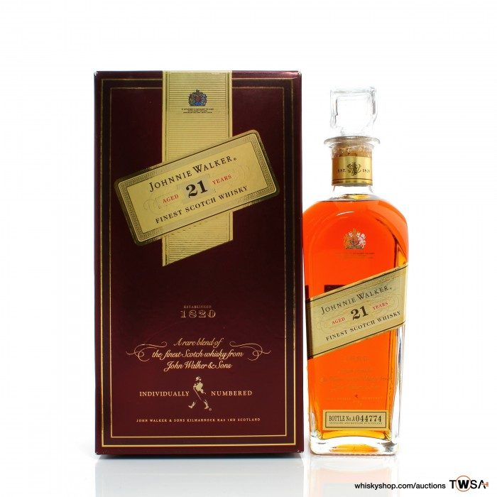Johnnie Walker 21 Year Old