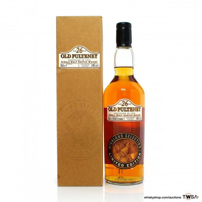 Old Pulteney 1974 26 Year Old