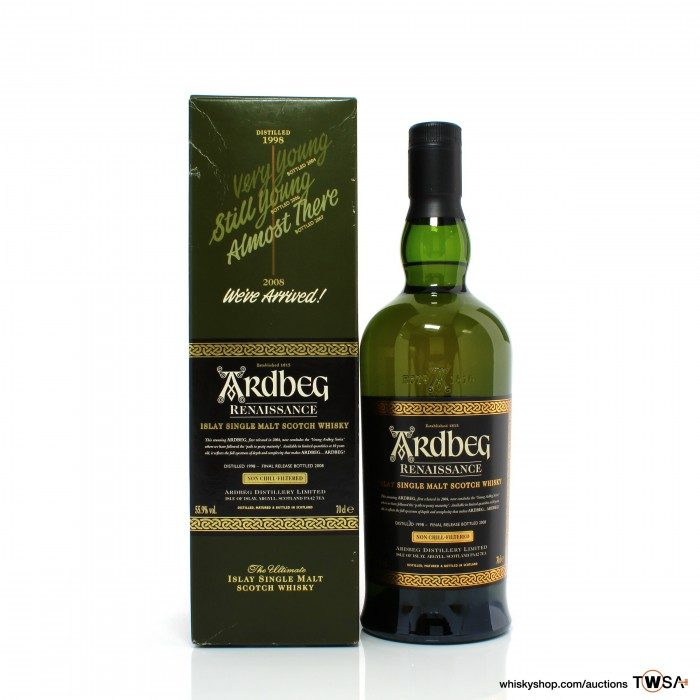 Ardbeg 1998 10 Year Old Renaissance