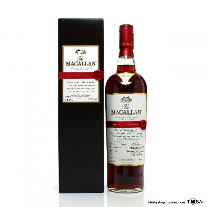 Macallan 1995 12 Year Old Easter Elchies 2008