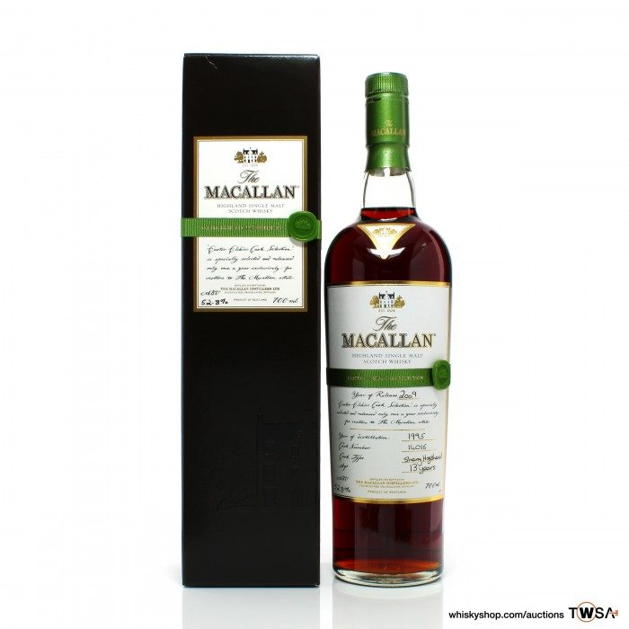 Macallan 1995 13 Year Old Single Cask #14016 Easter Elchies 2009