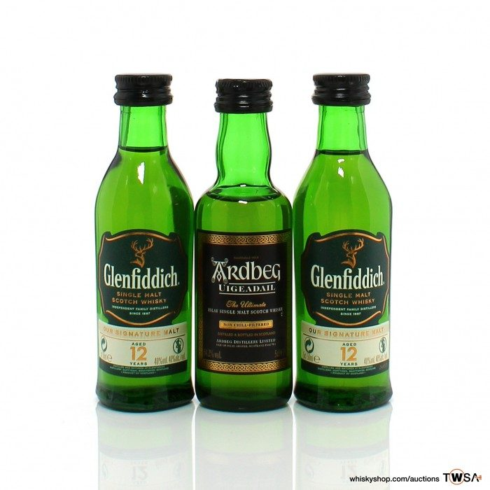 Single Malt Miniatures 3 x 5cl
