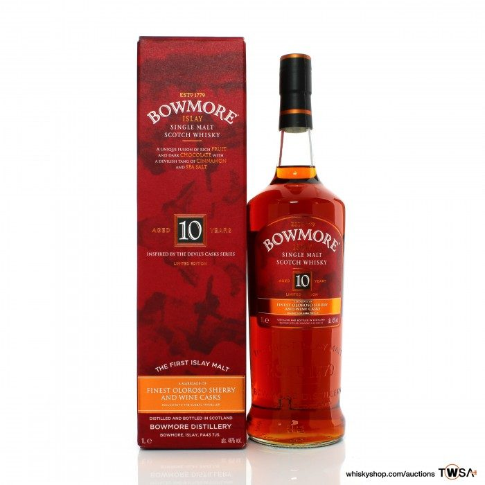 Bowmore 10 Year Old Devil's Cask Inspired
