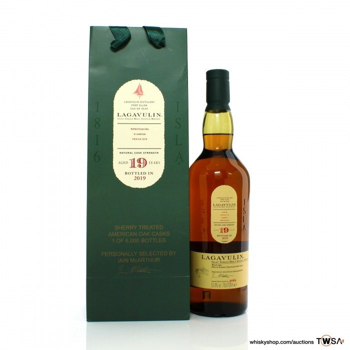 Lagavulin 19 Year Old Feis Ile 2019