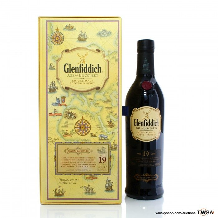 Glenfiddich 19 Year Old Age of Discovery - Madeira Finish