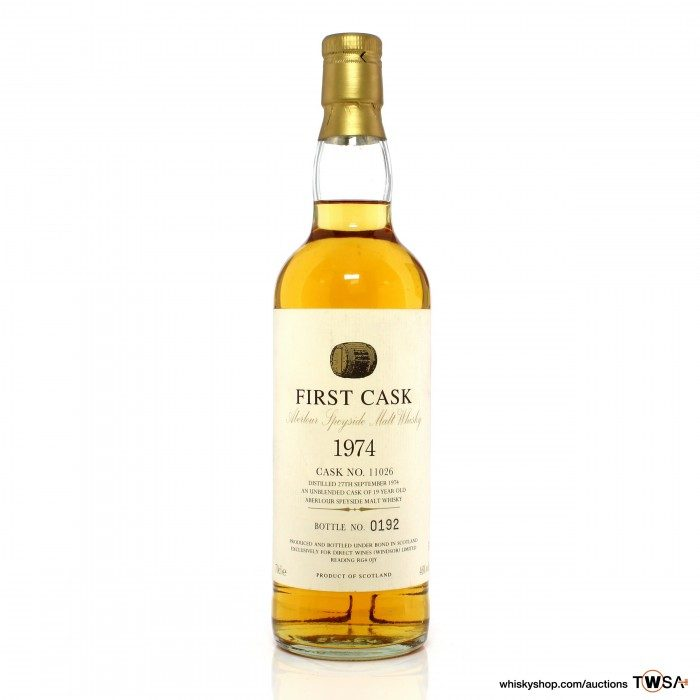 Aberlour 1974 19 Year Old Single Cask #11026 Direct Wines First Cask
