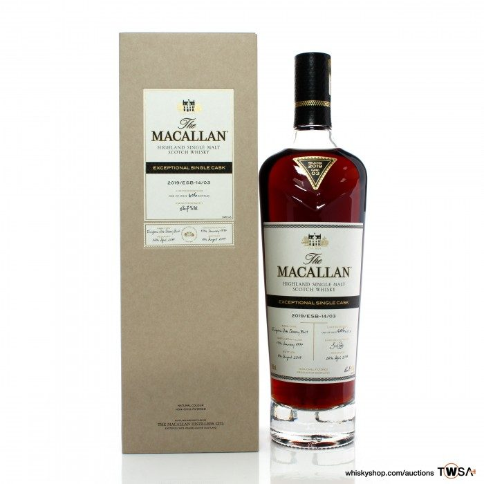 Macallan 1997 22 Year Old Single Cask #14/03 Exceptional Cask 2019 Release