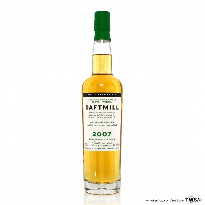 Daftmill 2007 12 Year Old Winter 2019 Release - UK Exclusive