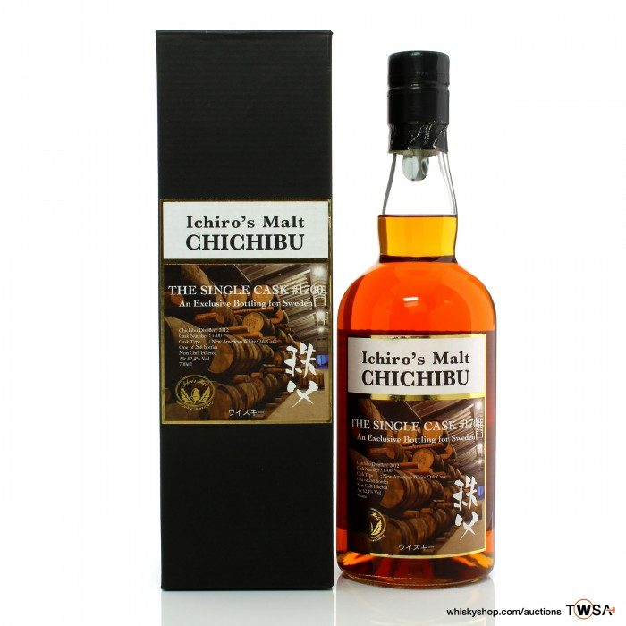 Chichibu 2012 Single Cask #1700 - Sweden Exclusive