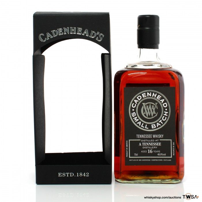 A Tennessee 16 Year Old Cadenhead's Small Batch