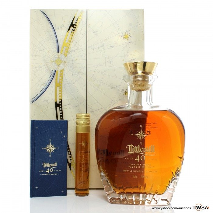 Littlemill 1977 40 Year Old Celestial Edition Including 5cl