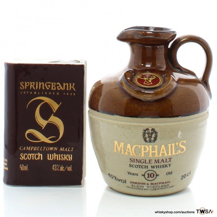 MacPhail's 10 Year Old & Springbank Miniature