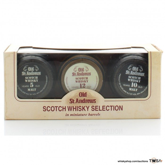 Old St. Andrews Whisky Selection Miniatures