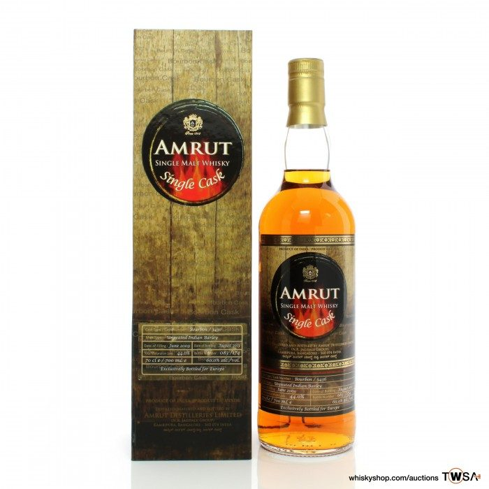 Amrut 2009 4 Year Old Single Cask #3436 - Europe Exclusive