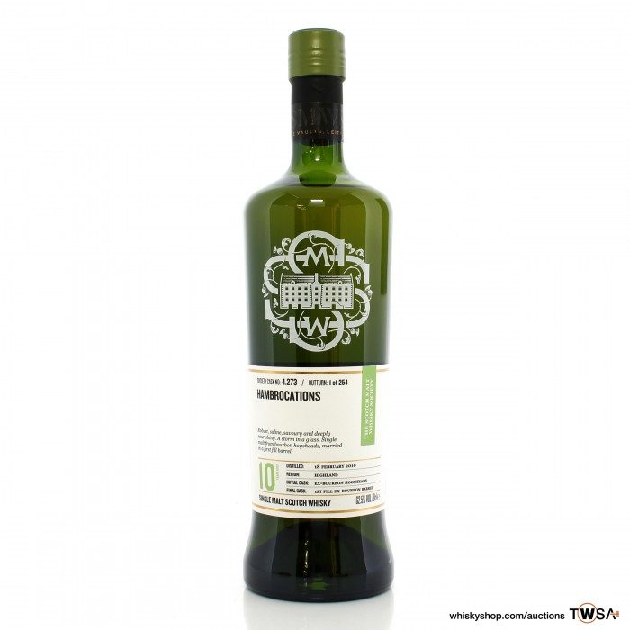 Highland Park 2010 10 Year Old SMWS 4.273