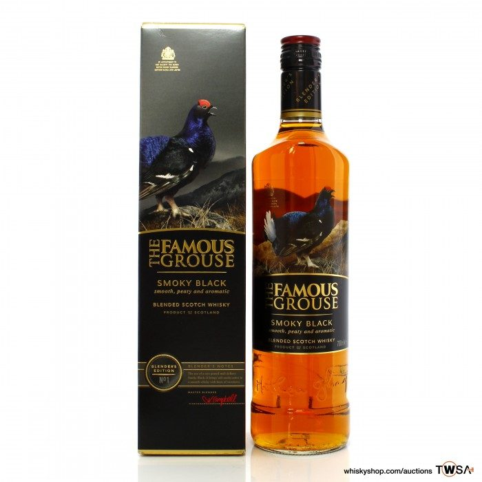 Famous Grouse Smoky Black Blender's Edition No.1