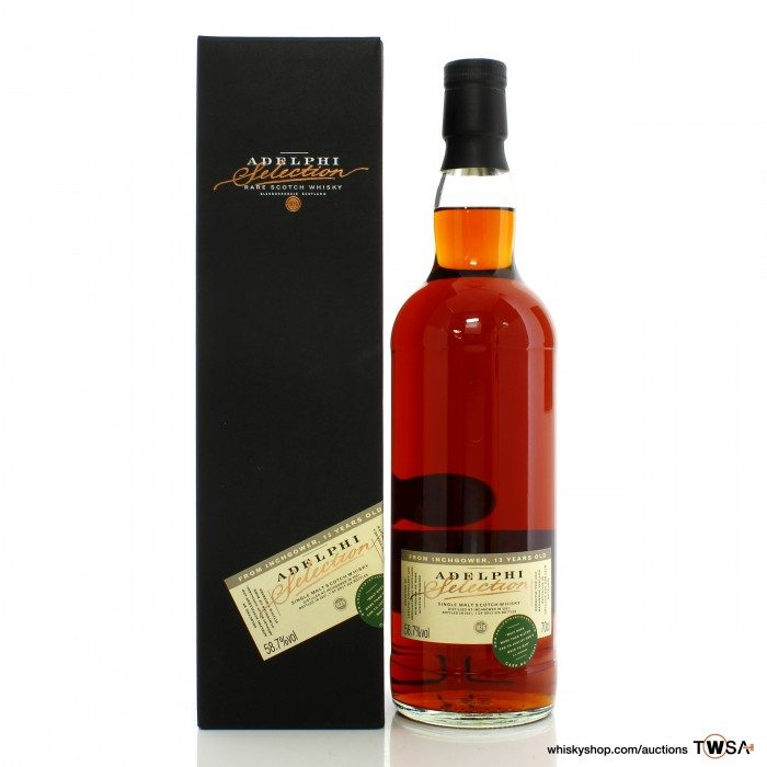 Inchgower 2007 13 Year Old Single Cask #800651 Adelphi Selection