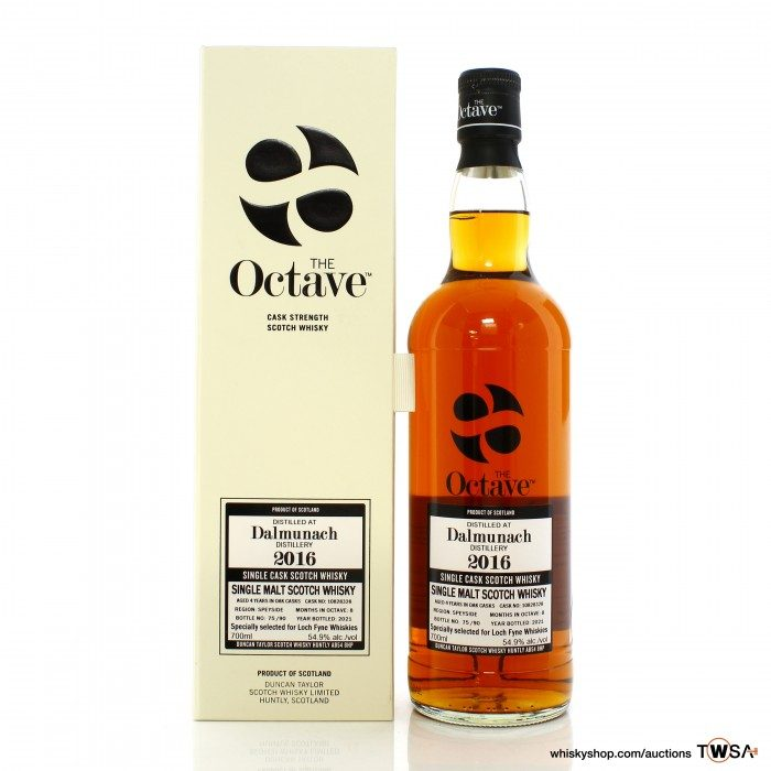 Dalmunach 2016 4 Year Old Single Cask #10828328 Duncan Taylor The Octave - LFW