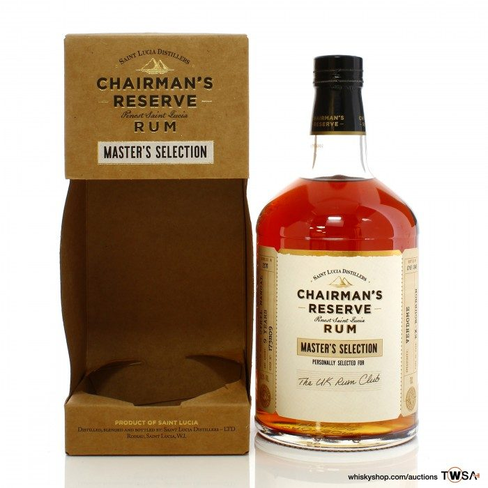 Chairman's Reserve 2011 9 Year Old Single Cask #1731109 Master's Selection - UK Rum Club