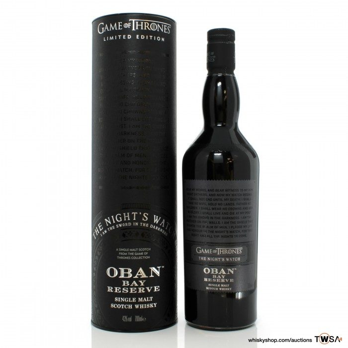 Oban Bay Reserve Game of Thrones - The Night's Watch