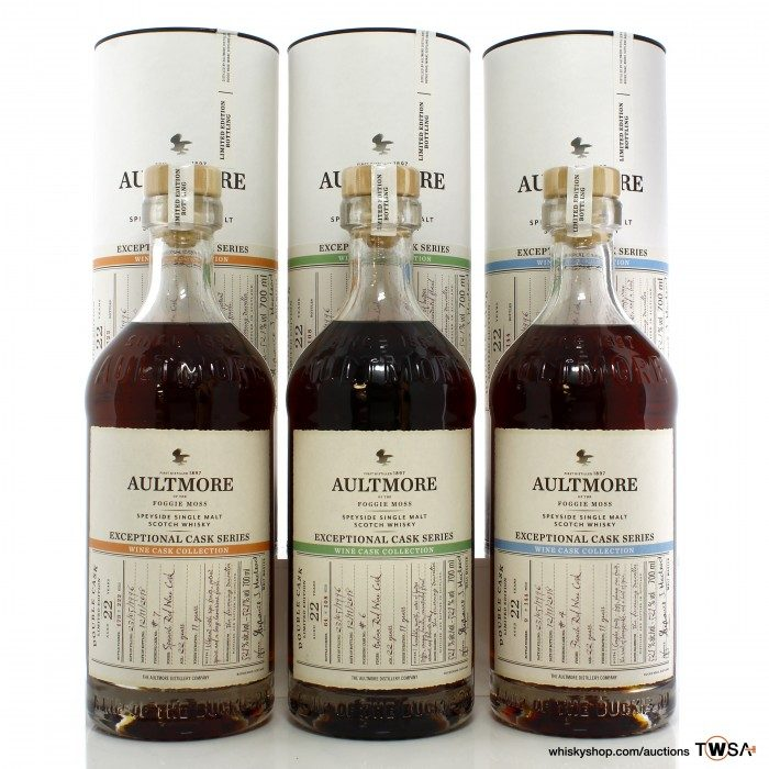 Aultmore 1996 22 Year Old Exceptional Cask Series Wine Cask Collection