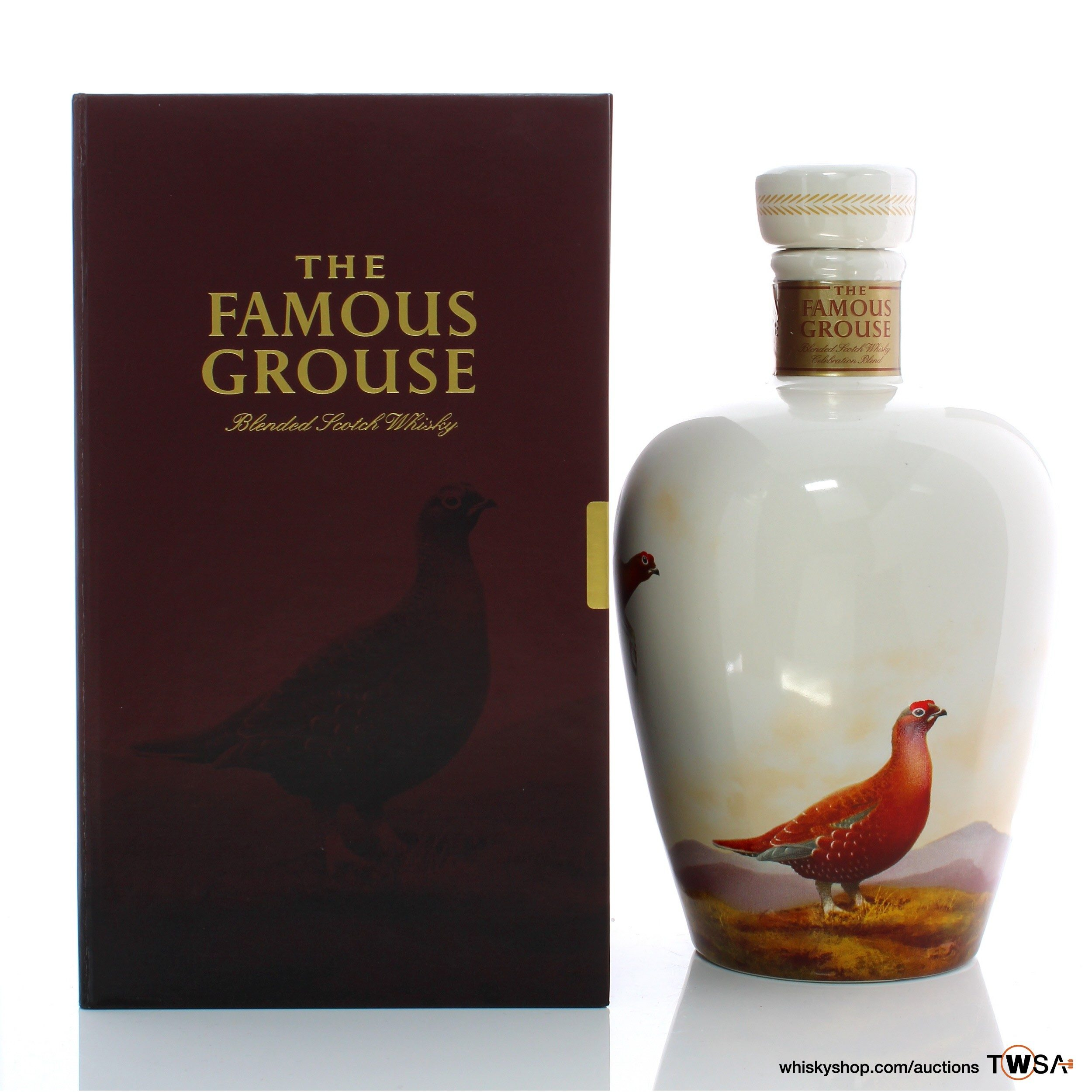 Famous Grouse Celebration Decanter   Whisky Auctioneer